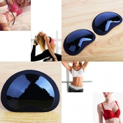 Silicone Bra Inserts Lift Breast Inserts Breathable Push Up Sticky Bra Cups for women Clear Gel Push Up Breast Cups